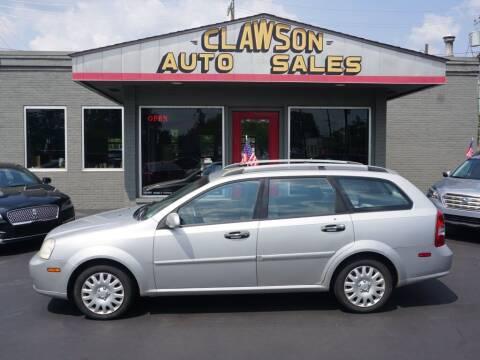 2007 Suzuki Forenza for sale at Clawson Auto Sales in Clawson MI