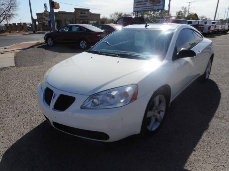 2006 Pontiac G6 for sale at AUGE'S SALES AND SERVICE in Belen NM