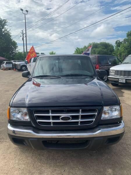 2003 Ford Ranger for sale at Houston Auto Emporium in Houston TX