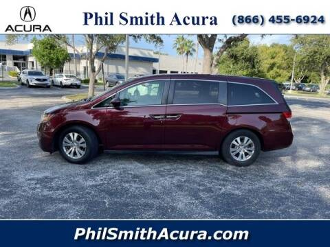 2016 Honda Odyssey for sale at PHIL SMITH AUTOMOTIVE GROUP - Phil Smith Acura in Pompano Beach FL