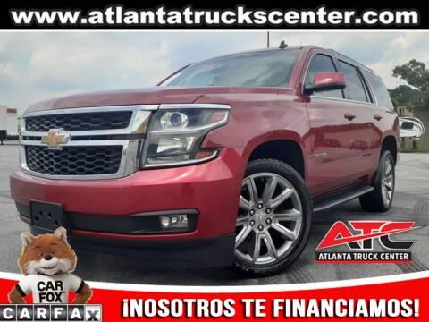 2015 Chevrolet Tahoe for sale at ATLANTA TRUCK CENTER LLC in Brookhaven GA