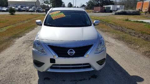 2019 Nissan Versa for sale at Auto Guarantee, LLC in Eunice LA