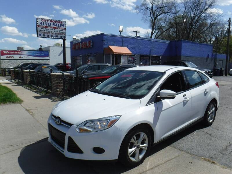 2014 Ford Focus for sale at City Motors Auto Sale LLC in Redford MI