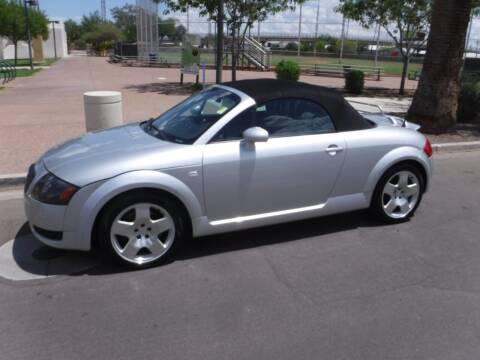 2002 Audi TT for sale at J & E Auto Sales in Phoenix AZ