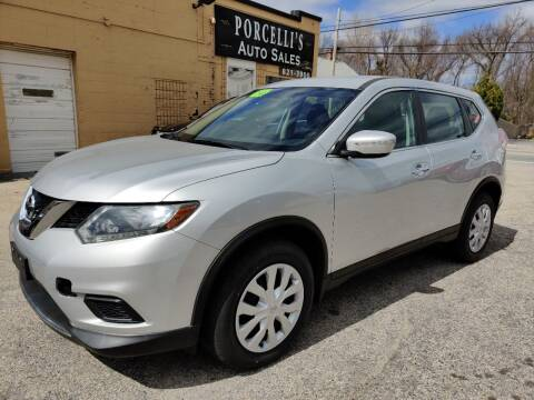 2014 Nissan Rogue for sale at Porcelli Auto Sales in West Warwick RI