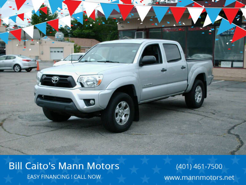 2013 Toyota Tacoma for sale at Bill Caito's Mann Motors in Warwick RI