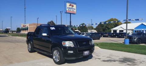2008 Ford Explorer Sport Trac for sale at America Auto Inc in South Sioux City NE