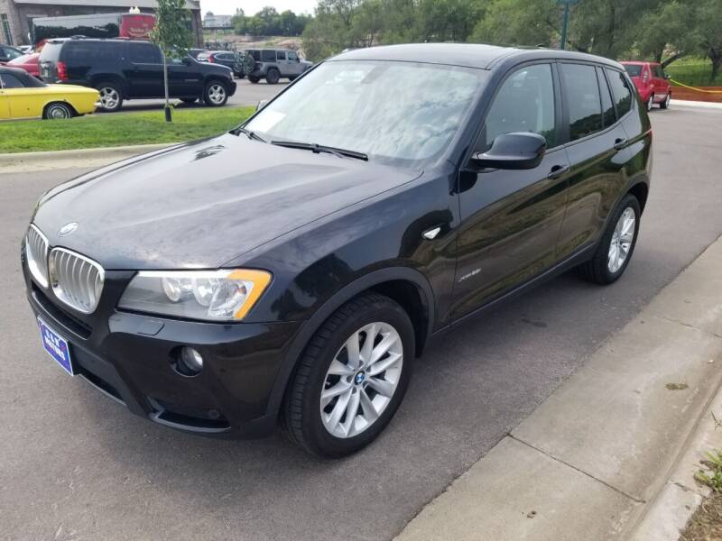 2013 BMW X3 for sale at G & H Motors LLC in Sioux Falls SD