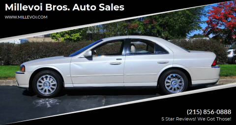 2004 Lincoln LS for sale at Millevoi Bros. Auto Sales in Philadelphia PA