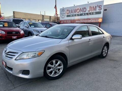 2011 Toyota Camry for sale at Diamond Jim's West Allis in West Allis WI