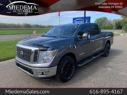2017 Nissan Titan for sale at Miedema Auto Sales in Allendale MI