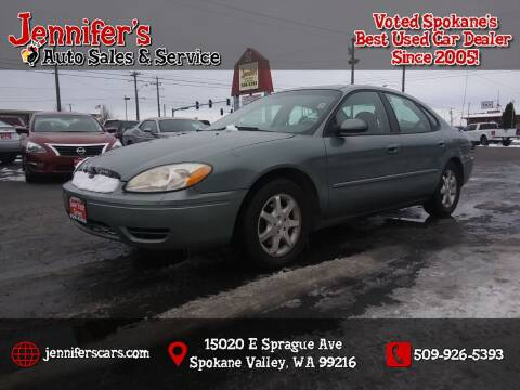 2006 Ford Taurus for sale at Jennifer's Auto Sales in Spokane Valley WA