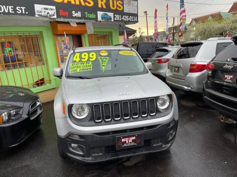2016 Jeep Renegade for sale at Best Cars R Us LLC in Irvington NJ