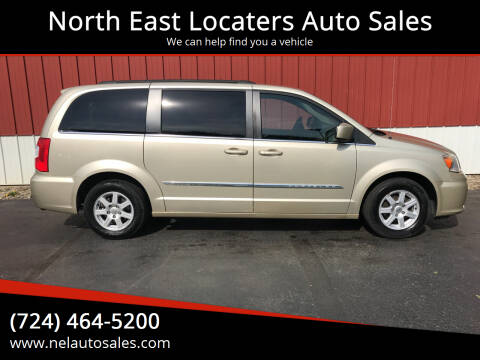 2011 Chrysler Town and Country for sale at North East Locaters Auto Sales in Indiana PA