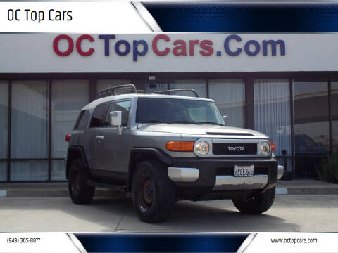 2011 Toyota FJ Cruiser for sale at OC Top Cars in Irvine CA