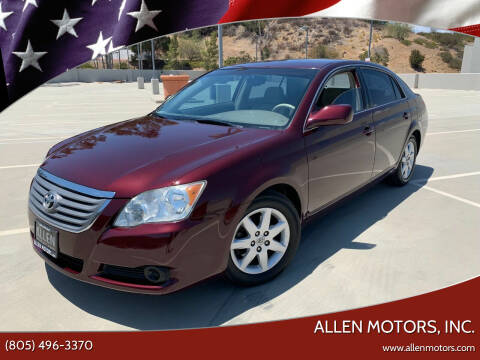 2008 Toyota Avalon for sale at Allen Motors, Inc. in Thousand Oaks CA