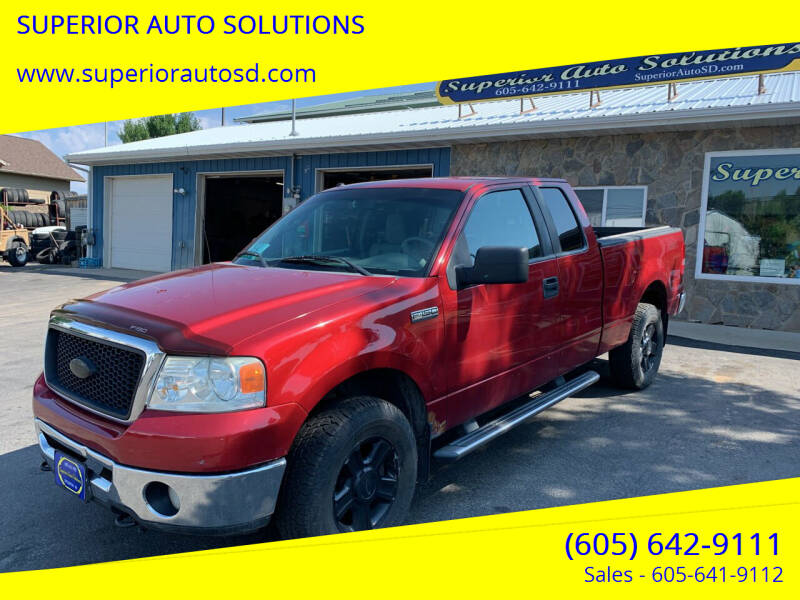 2007 Ford F-150 for sale at SUPERIOR AUTO SOLUTIONS in Spearfish SD