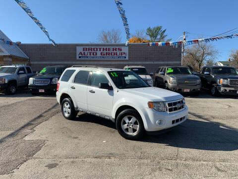 2012 Ford Escape for sale at Brothers Auto Group in Youngstown OH