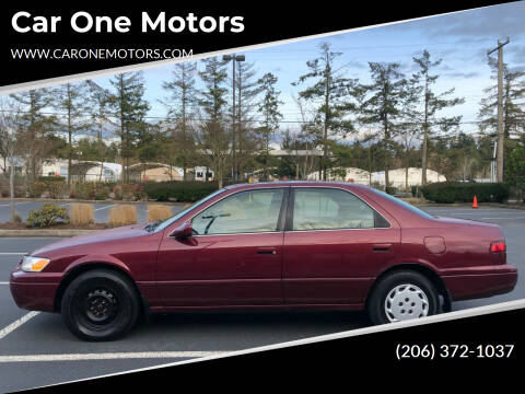 1997 Toyota Camry for sale at Car One Motors in Seattle WA