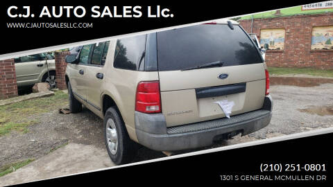 2004 Ford Explorer for sale at C.J. AUTO SALES llc. in San Antonio TX