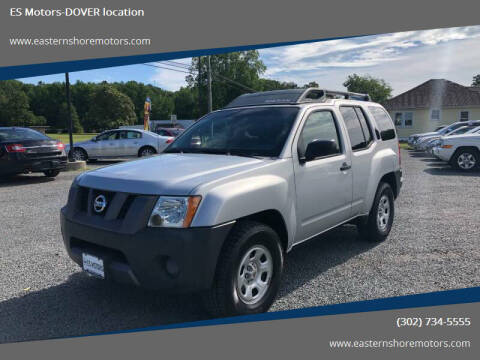 2008 Nissan Xterra for sale at ES Motors-DAGSBORO location - Dover in Dover DE