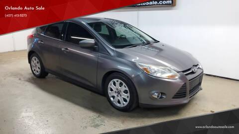 2012 Ford Focus for sale at Orlando Auto Sale in Orlando FL