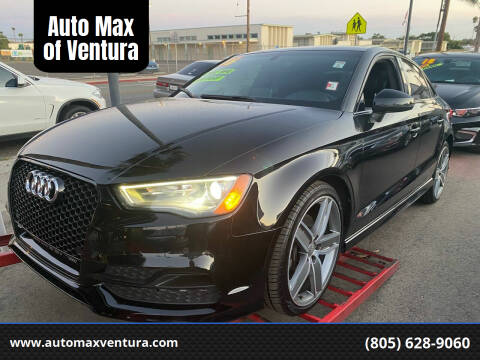2016 Audi A3 for sale at Auto Max of Ventura in Ventura CA