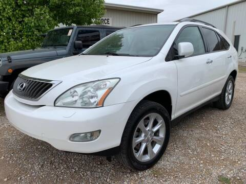 2009 Lexus RX 350 for sale at Lumpy's Auto Sales in Oklahoma City OK