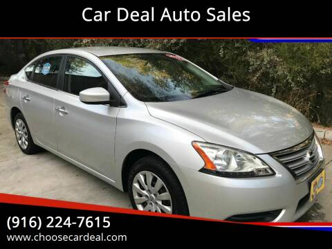 2014 Nissan Sentra for sale at Car Deal Auto Sales in Sacramento CA