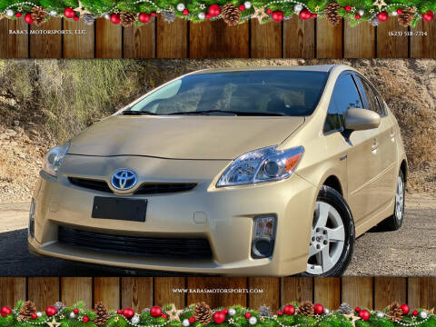 2011 Toyota Prius for sale at Baba's Motorsports, LLC in Phoenix AZ