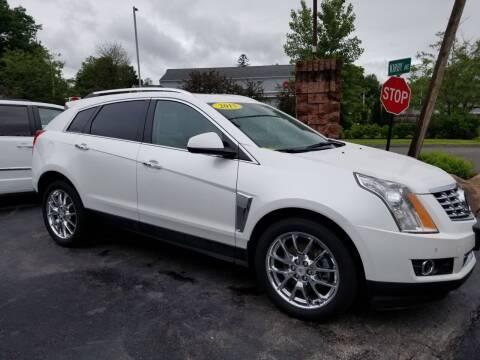 2015 Cadillac SRX for sale at R C Motors in Lunenburg MA
