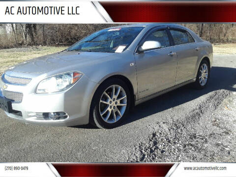 2008 Chevrolet Malibu for sale at AC AUTOMOTIVE LLC in Hopkinsville KY