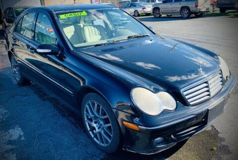 2007 Mercedes-Benz C-Class for sale at RD Motors, Inc in Charlotte NC