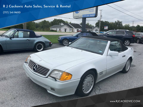 1992 Mercedes-Benz 500-Class for sale at R J Cackovic Auto Sales, Service & Rental in Harrisburg PA