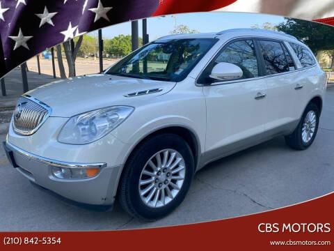 2010 Buick Enclave for sale at CBS MOTORS in San Antonio TX