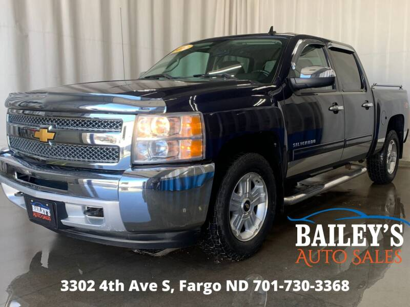 2012 Chevrolet Silverado 1500 for sale at Bailey's Auto Sales in Fargo ND