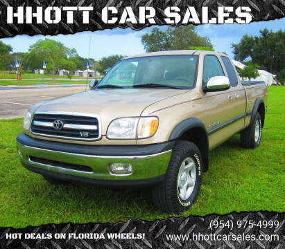 2001 Toyota Tundra for sale at HHOTT CAR SALES in Deerfield Beach FL