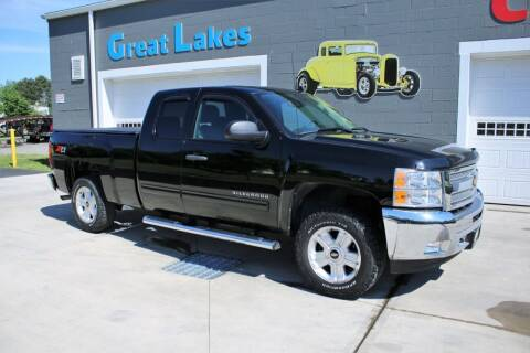 2012 Chevrolet Silverado 1500 for sale at Great Lakes Classic Cars & Detail Shop in Hilton NY