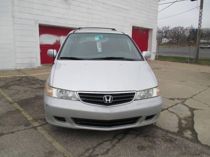 2002 Honda Odyssey for sale at Summit Auto Sales Inc in Pontiac MI