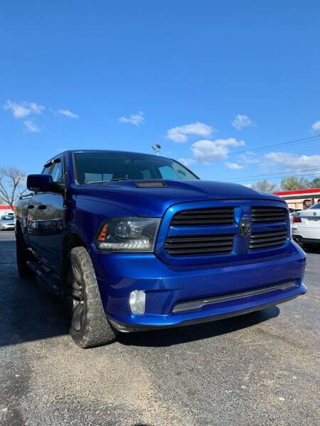 2015 RAM Ram Pickup 1500 for sale at City to City Auto Sales in Richmond VA