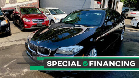 2011 BMW 5 Series for sale at ELITE MOTORS in West Haven CT