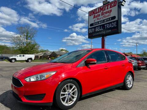 2015 Ford Focus for sale at Unlimited Auto Group in West Chester OH