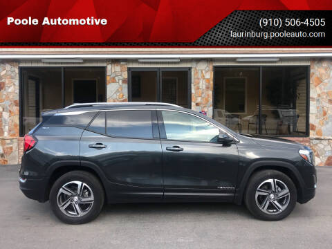 2020 GMC Terrain for sale at Poole Automotive in Laurinburg NC