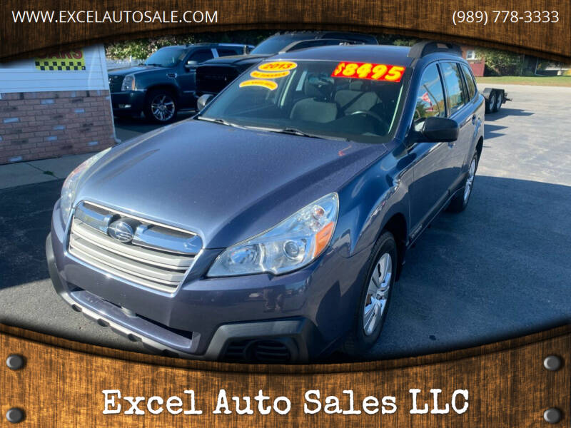 2013 Subaru Outback for sale at Excel Auto Sales LLC in Kawkawlin MI