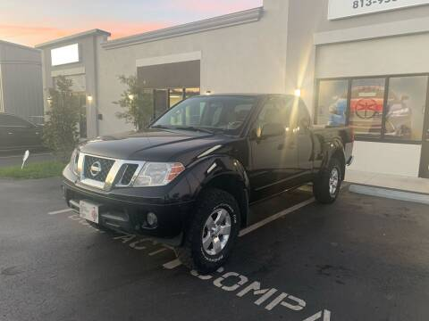 2012 Nissan Frontier for sale at Bay City Autosales in Tampa FL