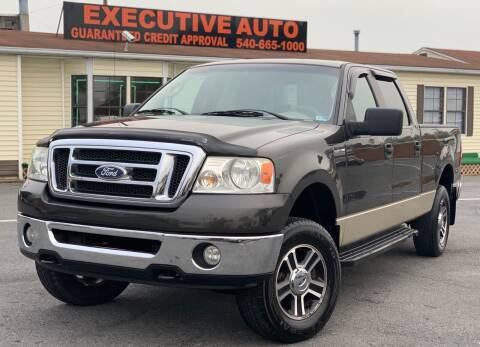 2007 Ford F-150 for sale at Executive Auto in Winchester VA