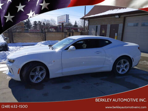 2017 Chevrolet Camaro for sale at Berkley Automotive Inc. in Berkley MI