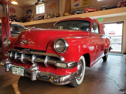 1954 Chevrolet Sedan delivery for sale at Pikes Peak Motor Co in Penrose CO