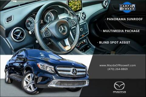 2016 Mercedes-Benz GLA for sale at Mazda Of Roswell in Roswell GA