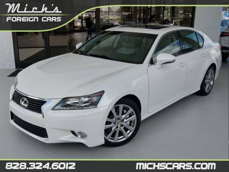 2015 Lexus GS 350 for sale at Mich's Foreign Cars in Hickory NC